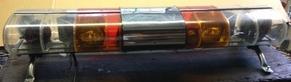 Lightbar wiseguys used emergency equipment vintage lightbars - Federal signal interior lightbar ...