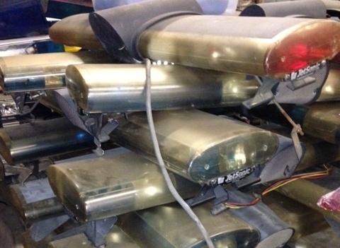 Lightbar wiseguys used emergency equipment rotator lightbars aloadofball Image collections